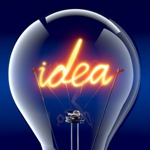 IP comes from ideas